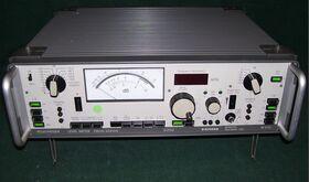 SIEMENS D2155 + W3155 Pegelmesser + Tracking Oscillator SIEMENS D2155 + W3155 Strumenti