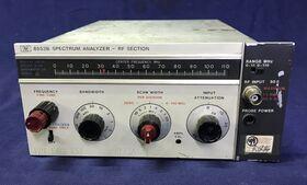 HP 8553B RF SECTION Spectrum Analyzer HP 8553B Accessori per strumentazione