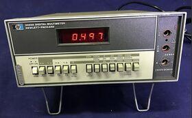 HP 3465A Digital Multimeter HP 3465A Strumenti