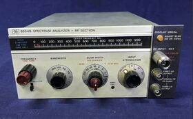 HP 8554B RF SECTION Spectrum Analyzer HP 8554B Accessori per strumentazione