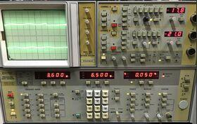 WILTRON 560 + 6620A Scalar Network Analyzer WILTRON model 560 (opt 03) + Sweep Generator 6620A (opt 01-03-9N) -da revisionare Strumenti