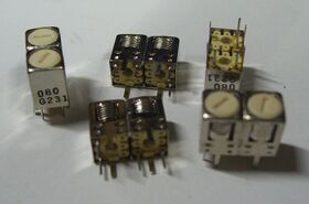 938-080 type HR-5W KIT 50 pezzi media frequenza 938-080 type HR-5W Componenti elettronici