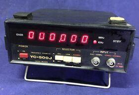 YAESU YC-500J Frequency Counter YAESU YC-500J Accessori