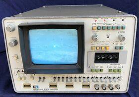 HP 1600A Logic State Analyzer HP 1600A -non provato Strumenti