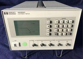 HP 86060C Lightwave Switch HP 86060C Strumenti
