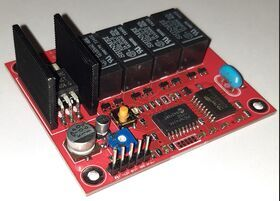 kit dtmf4ch Interuttore a chiave DTMF a 4 canali con tono di risposta Telecomunicazioni