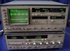ANRITSU mod. ME453K Microwave System Analyzer ANRITSU mod. ME453K Strumenti
