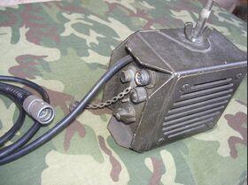 AM-4979A/GR Altoparlante con amplificatore incorporato AM-4979A/GR -usato Apparati radio