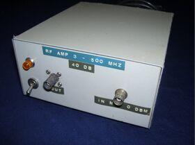 AEL MW13890 Amplificatore RF Autocostruito con Moduli AEL MW13890 Strumenti