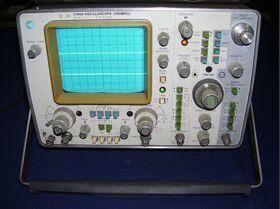 HP 1740A Oscilloscpio HP 1740A Strumenti
