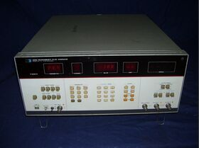 HP8160A Programmable Pulse Generator HP 8160A Strumenti