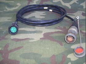 RAYCHEM 1/4 DR-25 4830A 121090 Cavo di collegamento P.D.P. / Radio RAYCHEM 1/4 DR-25 4830A 121090 Accessori per apparati radio Militari