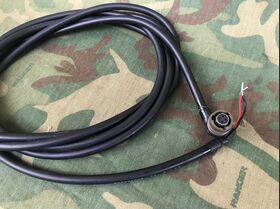 5995-15-101-0736 Cavo Alimentazione CC 5995-15-101-0736 Accessori per apparati radio Militari