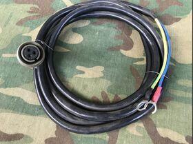CAVO CA Cavo Alimentazione CA Lunghezza 1,5 mt -nuovo Accessori per apparati radio Militari