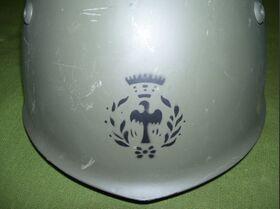 Elmetto M33 VAM Elmetto Esercito Italiano Militaria
