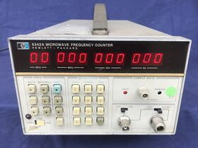 HP 5342A Frequency Meter HP 5342A Frequenzimetri
