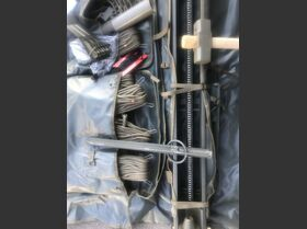 SA-101/A Sistema sollevamento e sostegno pali per antenne SA-101/A -COMPLETO DI PALI(albero di antenna) Apparati radio