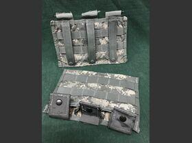 M4 Three Mag Pouch M4 Three Mag Pouch Insert per 3 porta caricatori Militaria
