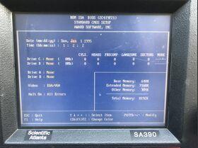 SA390 Dynamic Signal Analyzer Scientific Atlanta SA390 Strumenti