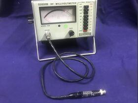 BOONTON mod. 92B RF Millivoltmeter BOONTON mod. 92B Completo di RF Probe model.91-12F Strumenti