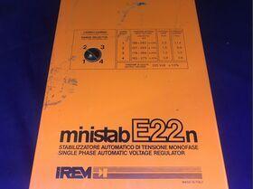 MINISTAB E22n IREM Stabilizzatore Automatico di Tensione MINISTAB E22n IREM Strumenti
