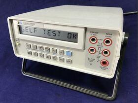 HP 3468A Multimeter  HP 3468A Strumenti