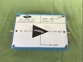 A.E.L. model MW 13890 Amplificatore larga banda A.E.L. model MW 13890 Accessori per strumentazione