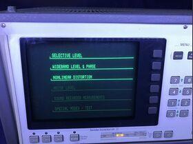 WANDEL & GOLTERMANN NFA-1 Audio Analyzer WANDEL & GOLTERMANN NFA-1 Strumenti