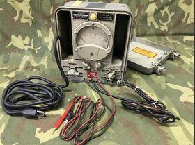 Electronic Multimeter U.S. Navy TS-505B-U Accessori per apparati radio Militari