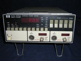 HP8152A HP 8152A Optical Overage Power Meter MILLIVOLTmeter / POWERmeter / WATTmeter  AF-RF