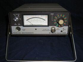Marconi 6950 MARCONI 6950 RF Power Meter MILLIVOLTmeter / POWERmeter / WATTmeter  AF-RF