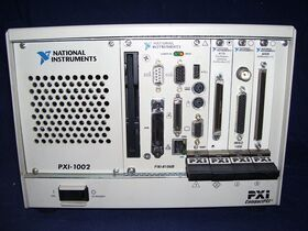 PXI-1002 PC per test e misura PXI NATIONAL PXI-1002 Test Set