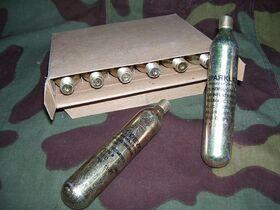 MIL-C-25369 Cylinder, Carbon Dioxide Militaria