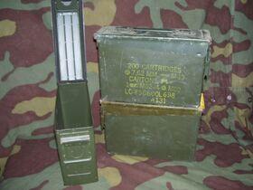 PortamunUSA Cassetta portamunizioni in lamiera U.S. Army Miscellanea