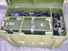 R-1070 Ricetrasmettitore esercito RUMENO R-1070 Apparati radio militari