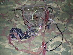 R-205 Ricetrasmettitore portatile RUSSO R-205 Apparati radio militari