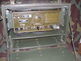 R19JTRC1 Radio Receiver U-S-ARMY R-19J/TRC-1 Apparati radio militari