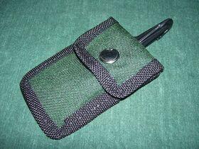 Taschino Taschino portaoggetti con clip da cintura Militaria