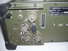 Marconi Italiana AS 303 Apparato Marconi Marconi Italiana AS 303 Apparati radio