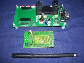 DemoKit D868 Moduli RF 868 Mhz per trasmissione dati  DemoKit D868 TinyOne  -TELITEL Telecomunicazioni