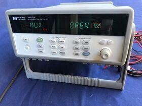 HP 34970A Data Acquisition/Switch Unit HP 34970A Strumenti