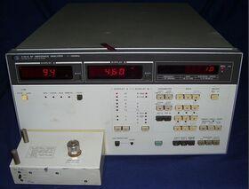 HP 4191A RF Impedance Analyzer HP 4191A Strumenti