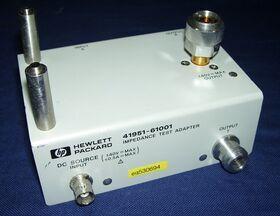 HP 41951 Impedance Test Adapter HP 41951-61001 Accessori per strumentazione
