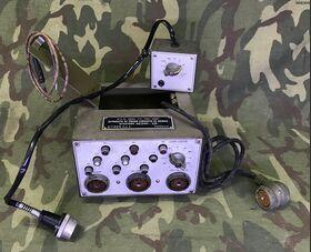 Apparato di prova Apparato di prova circuiti di bordo per Stazioni AN/GRC-3/8 Accessori per apparati radio Militari