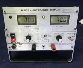 KW IC 70/4 Power Supply KW IC 70/4 Strumenti