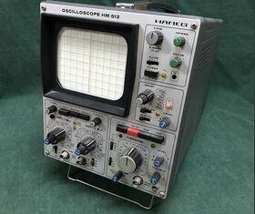 HM 512 Dual Trace Oscilloscope HAMEG HM 512 Strumenti