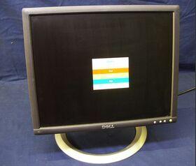 """Monitor PC 17"""" DELL Monitor PC 17"""" DELL Computer Rigenerati"""