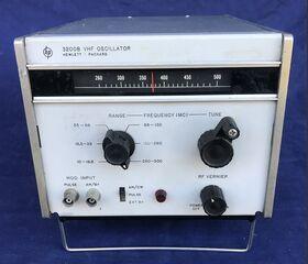 HP 3200B Oscillator VHF HP 3200B Strumenti
