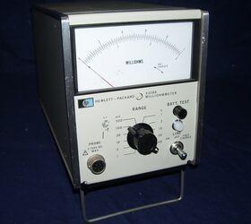 HP4328A Milliohmmeter HP 4328A Multimetri - Voltmetri - A/V/Ohm - RCL