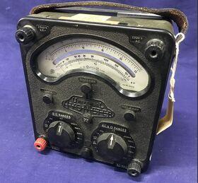 AvoMeter mod. 8 Mk IV Multimetro Analogico AvoMeter mod. 8 Mk IV Strumenti